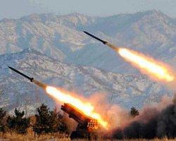 Kuzey Kore'den G. Kore-ABD Tatbikatına 'Füzeyle Yanıt'