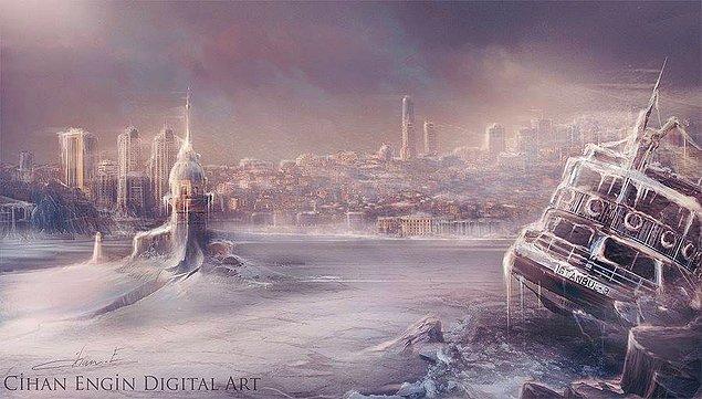 2. İstanbul'da Buz Devri ve Kız Kulesi