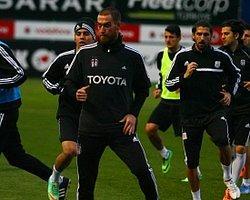 Beşiktaş 'Yarım Kadro' Çalıştı