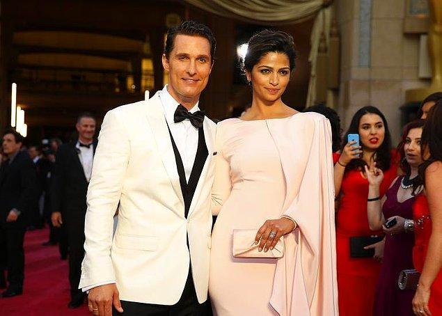 Matthew McConaughey ve Camila Alves