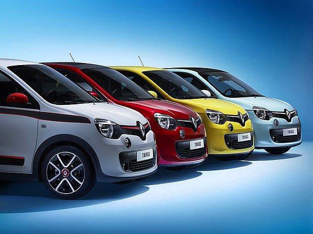 Renault Twingo Cenevre Fuarında