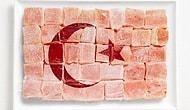 Yerel Lezzetleri Kullanarak Oluşturulmuş 18 Ülke Bayrağı