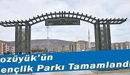 Bozüyük'ün Gençlik Parkı Tamamlandı