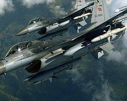 Sınırda Kırmızı Alarm! F-16'lar Havalandı