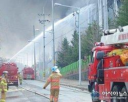 Samsung Fabrikasında Dev Yangın!