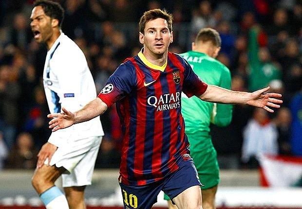Messi Şampiyonlar Ligi'nde Rekor Kırdı