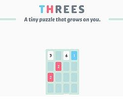 iPhone'un Yeni Fenomen Oyunu Threes Android'e Geldi