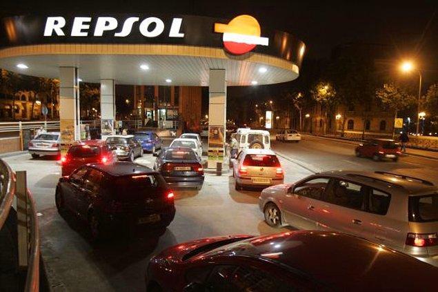 13. Benzin fiyatları