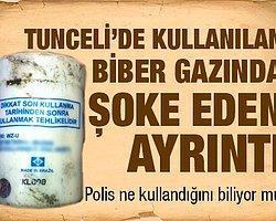 Tunceli'de Kullanılan Biber Gazında Şoke Eden Ayrıntı