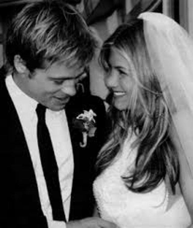 $1 milyon dolar-Jennifer Aniston and Brad Pitt