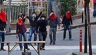 Okmeydanı'nda Eli Palalı Grup, Korkulu Dakikalar Yaşattı