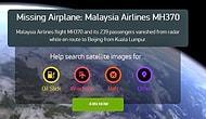 Kayıp Malezya Uçağının Bulunmasına Yardım Edebilirsiniz