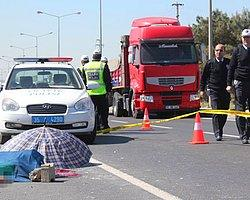 TIR'ın Çarptığı Polis Memuru Şehit Oldu