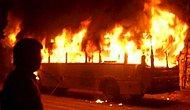 Pakistan'da Yakıt Tankeri Otobüsle Çarpıştı: 35 Ölü