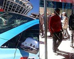 CHP Ankara Büyükşehir Belediye Başkan Adayı Mansur Yavaş'a Saldırı