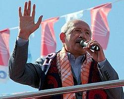 CHP İzmir Mitingi'nde Gövde Gösterisi Yaptı