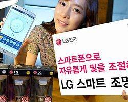 LG Akıllı Ampul Yaptı