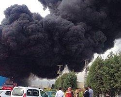 İki Büyük Yangın; Manisa'da Fabrika, İstanbul'da Rezidans Yandı