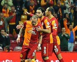 Sneijder Hem Gol Hem Trip Attı