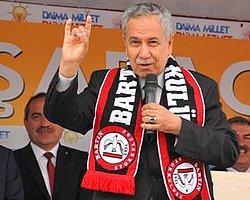 Bülent Arınç'tan 'Bozkurt' İşareti