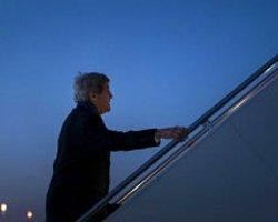 Kerry Ortadoğu Görüşmeleri İçin Ürdün'e Uçtu