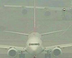 Trabzon'un Uçağında Panik