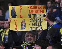 Mancini'ye Pankartlı Gönderme