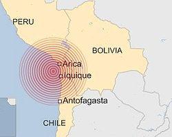 Şili'de 8,2 Büyüklüğünde Deprem ve Tsunami