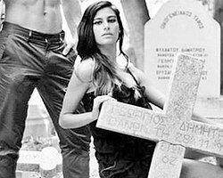 Rum Mezarlığında 'Moda Çekimi' Uluslararası Kriz Yarattı