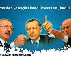 Türkiye'nin en çok RT edilen 10 siyasetçi Tweet'i!(Güncel 5 Nisan)