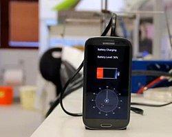 Telefonunuzu 30 Saniyede Şarj Edebileceksiniz