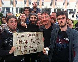 """Ege Üniversitesi Öğrencilerinden """"Çay Lobisi"""""""