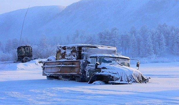 İnsanların yaşadığı en soğuk yer - Oymyakon, Rusya