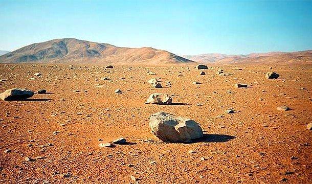 En kuru yer - Atacama Çölü