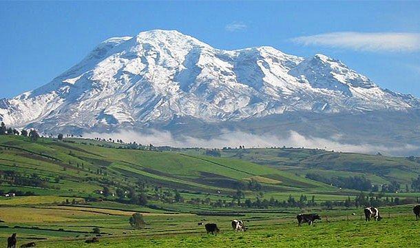 Dünyanın merkezinden en uzak nokta - Chimborazo Dağı