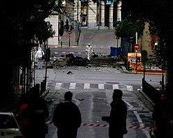 Yunanistan Merkez Bankası'na Bombalı Saldırı