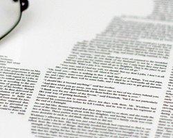 Bir Romanı Tek Kağıda Sığdırmak