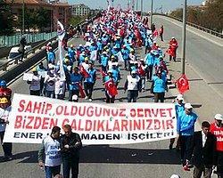 Yatağan işçileri Ankara'da