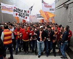 Galatasaray Taraftarı TFF'ye Yürüdü