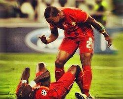 """""""Eboue Bir Yatıyor 5 Dakika Kalkmıyor"""""""