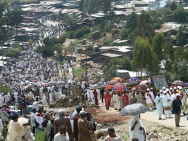 6. Addis Ababa, Etiyopya
