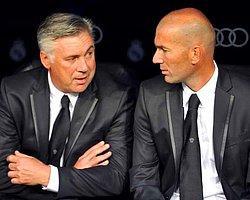 Ancelotti'den Zidane'a Destek