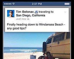 Artık Facebook'ta Nereye Seyahat Ettiğinizi Paylaşabileceksiniz