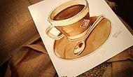 Kahveyle Yapılan Sanatın 15 Güzel Örneği