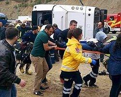 Isparta'da Yolcu Otobüsü Devrildi; 3 Ölü