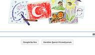 23 Nisan Ulusal Egemenlik Ve Çocuk Bayramı Doodle Oldu