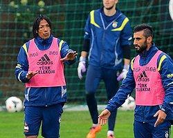 Fenerbahçe İdmanında Gerginlik!