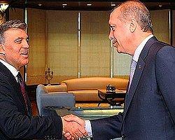 Gül İle Erdoğan'ın Görüşmesi Sona Erdi