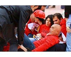 Taksim'de Odtü Eylemine 8 Gözaltı
