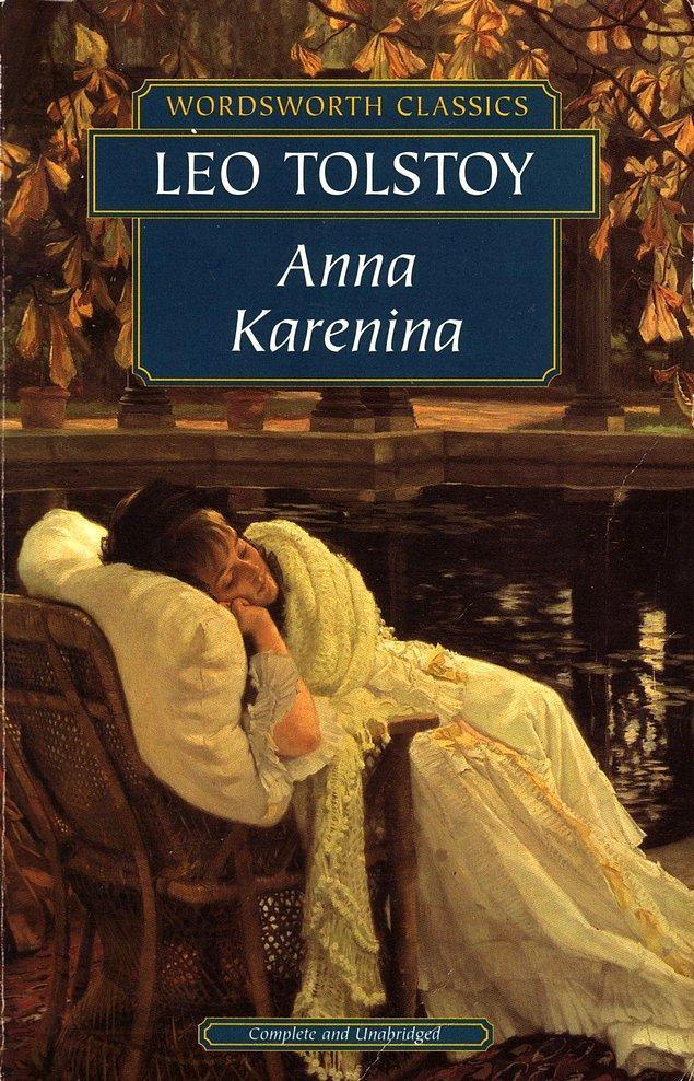2. Leo Tolstoy - Anna Karenina